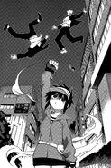Hajime manga fight