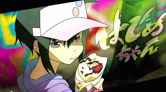 File:Hajime in the official PV for Hamatora.png