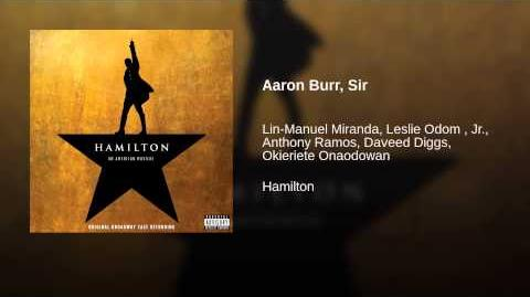 Aaron Burr, Sir
