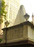 Trinity Church Hamilton headstone