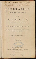 The Federalist Papers front cover