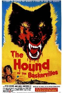 The Hound of the Baskervilles 1959 poster