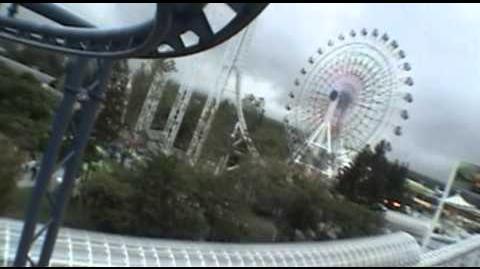 Fuwa Fuwa Osora No Dai-Bouken Hamtaro Hamster Roller Coaster POV Fuji-Q Japan