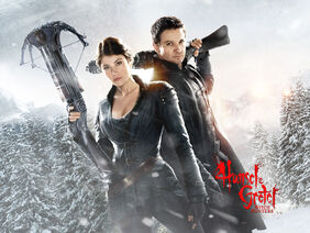 Hansel & Gretel-Witch Hunters poster