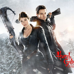 Hansel & Gretel snowy wallpaper.