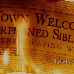 Town Welcomes Orphaned Siblings after escaping witch.