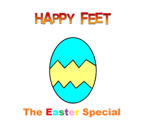 Happy Feet The Easter Special Logo