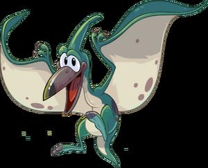 Flying Aqua Pteranodon from CP
