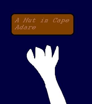 A Hut in Cape Adare Poster