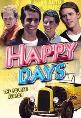 Happy Days Season 4 DVD cover