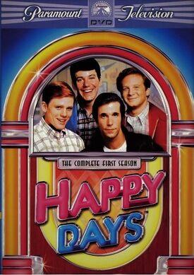 Happy Days Season 1 DVD cover