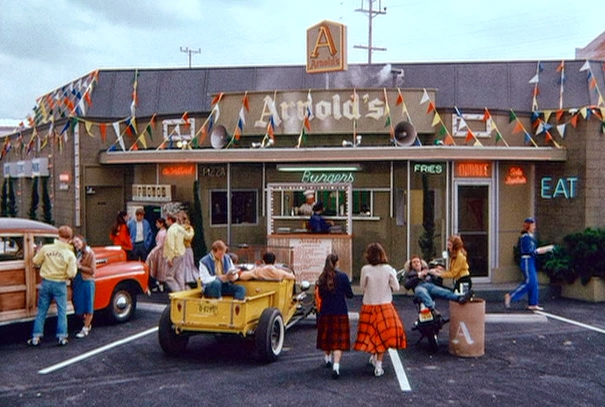 arnold 39 s drive in happy days wiki fandom powered by wikia. Black Bedroom Furniture Sets. Home Design Ideas