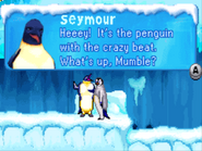 Seymour in Happy Feet GBA Game
