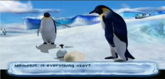 File:Maurice and Gloria meets Memphis in Happy Feet game.PNG