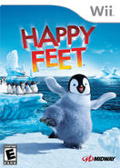 Happy Feet Wii Game Cover