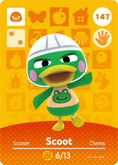 Scoot Card