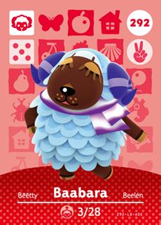 Baabara Card