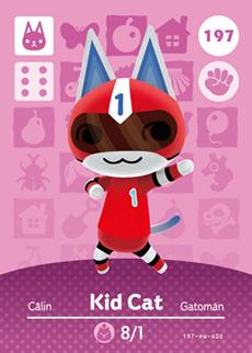 Kid Cat Card