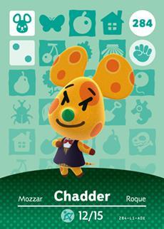 Chadder Card