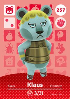 Klaus Card