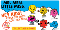 Mr. Men Little Miss (Arby's, 2012)
