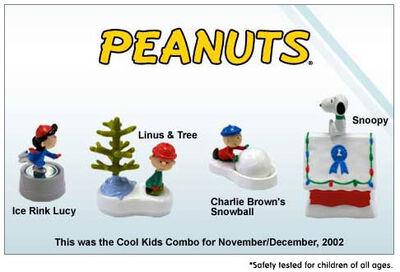 Hardees 2002 Peanuts