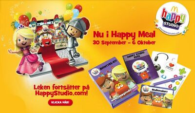Nu i Happy Meal