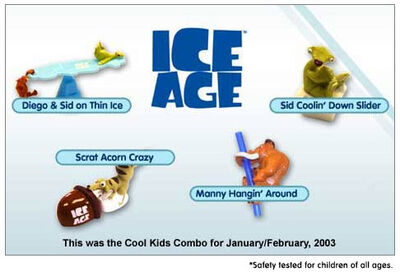 Hardees 2003 Ice Age