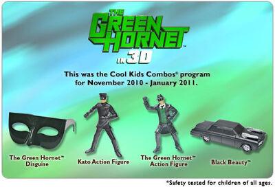Hardees 2010 Green Hornet