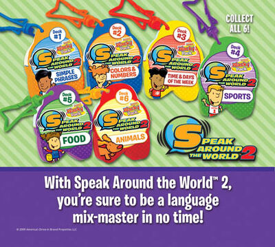 Sonic Speak Around the World 2