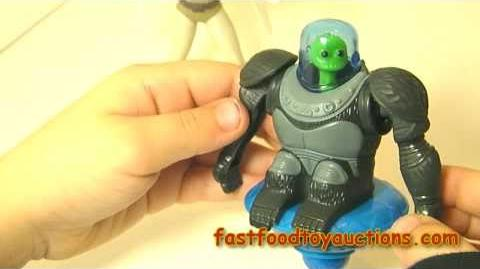 McDonald's Megamind Happy Meal Toy review