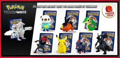 McD Pokemon Black and White
