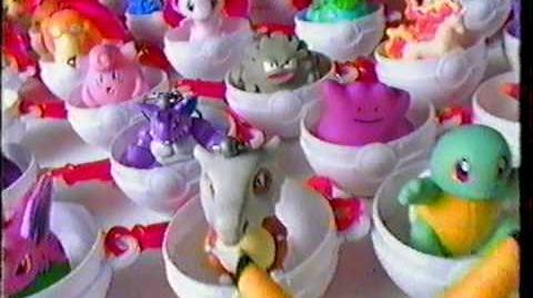 Burger King Big Kids Meal Pokémon Toys - Commercial