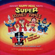 McDonald's Super Loony Tunes Happy Meal translite 1991