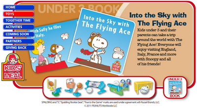 Into the Sky with The Flying Ace