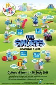 McD The Smurfs 2011 other