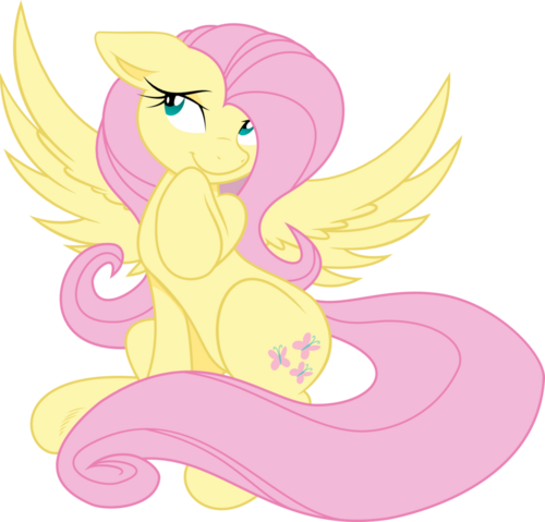 File:Timid fluttershy joey darkmeat sketch vector by tim015-d5ek1pj.png