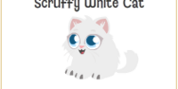 Scruffy White Cat