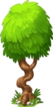 Decoration Bent Tree