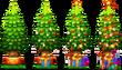Xmas Decoration Christmas Tree Level 1to4