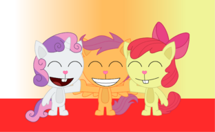 Htf the cutie mark crusaders by elica1994-d4dp3ms