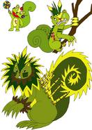 Pokemon HTF Nutty by Skooterwolf