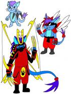 Pokemon HTF Fresko by Skooterwolf