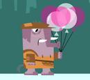 Elefante Vendedor de Globos