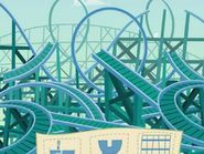 Finished rollarcoaster