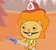 Disco Bear Fire Fighter