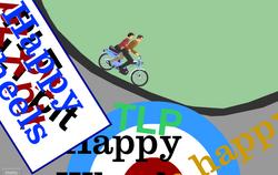Classic Happy Wheels scene