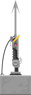 Harpoon Gun (With Anchor)