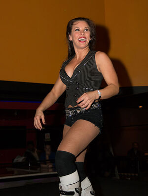 Mickie James in February 2014