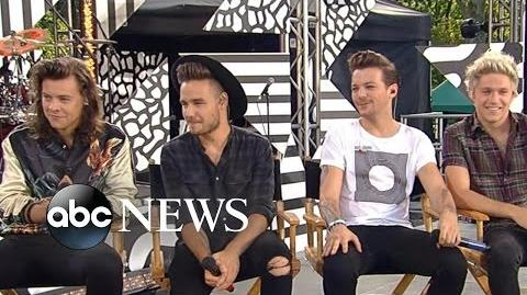 One Direction 1D - FULL INTERVIEW Louis Tomlinson Talks Fatherhood on GMA Good Morning America